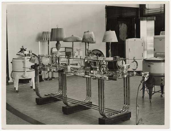Electrical appliance display