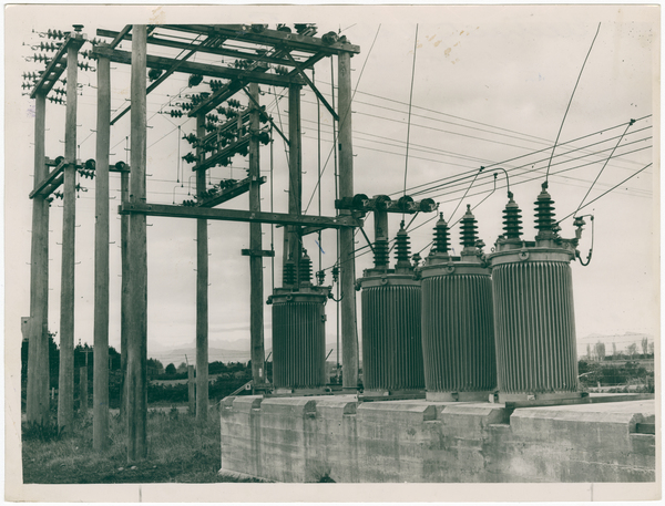 Substation near Harewood aerodrome