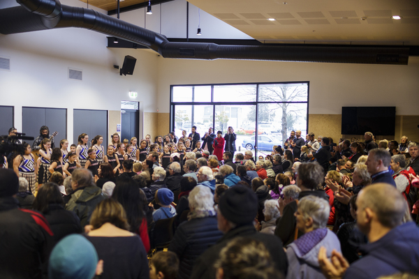 Opening ceremony at Ōrauwhata: Bishopdale Library