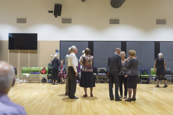 Kathie's Dance group at Ōrauwhata: Bishopdale Library