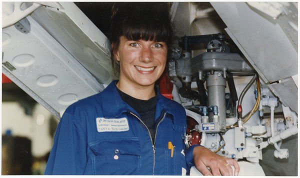 First woman aircraft maintenance engineer, Air New Zealand