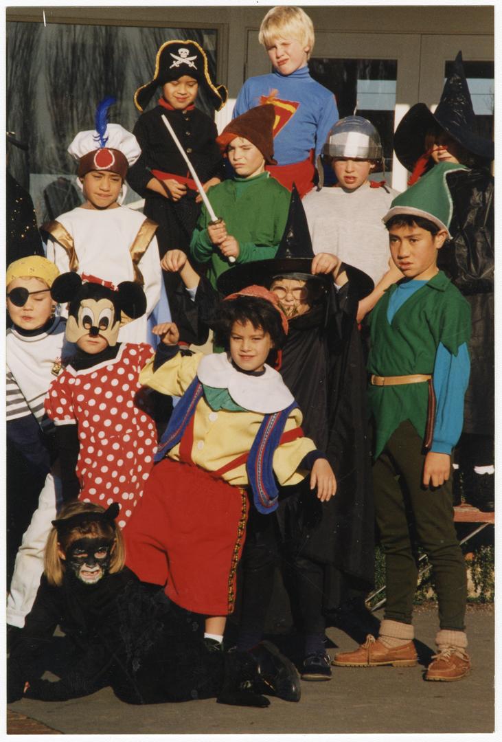 Children in fancy dress for TV2 KidsFest