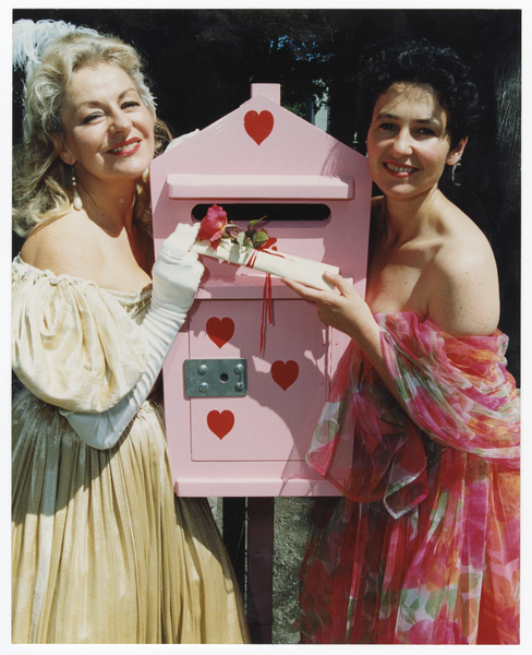 A Post Box for Passionate Letters