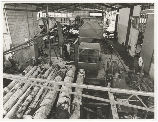 McVicar Timber saw mill