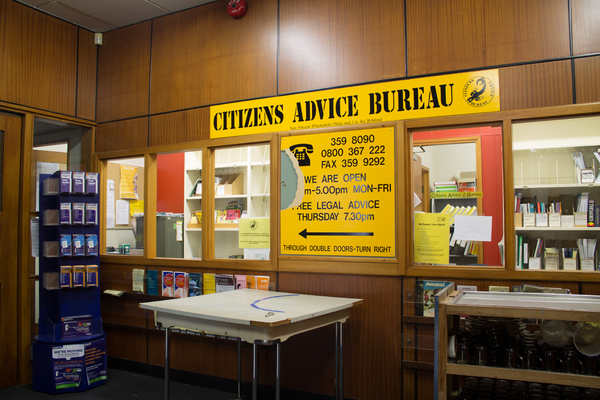 Citizens Advice Bureau, old Bishopdale Library
