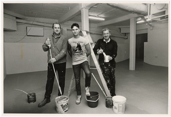 Digging under the Robert McDougall Art Gallery