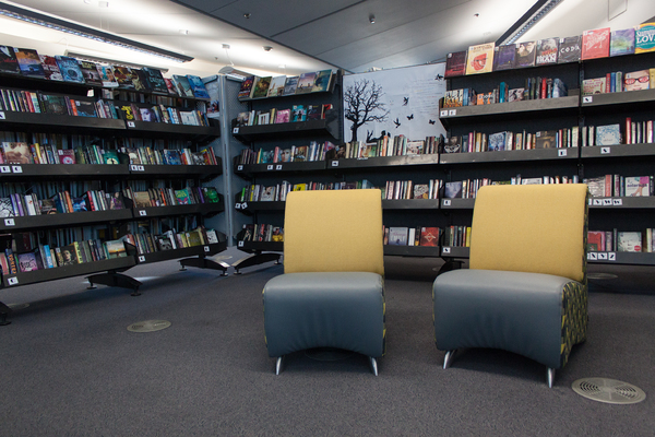 Young adult section, New Brighton Library