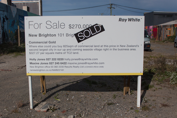 Land sold in New Brighton Mall