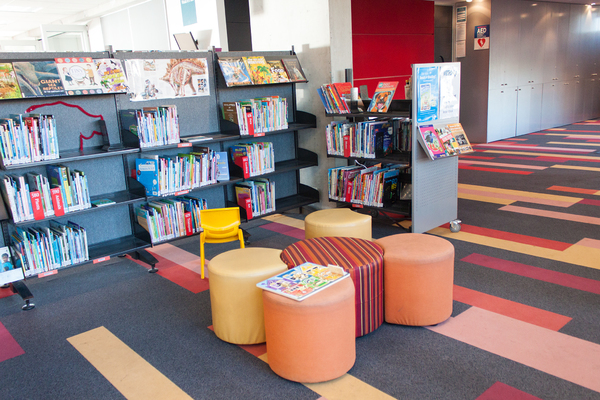 Children's section, New Brighton Library