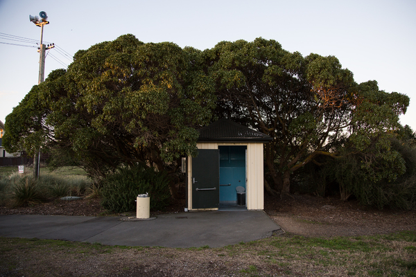 Toilet at the Spit Reserve, Southshore
