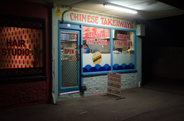 Chinese Takeaways, Halswell Fish and Chips, Lillian Street