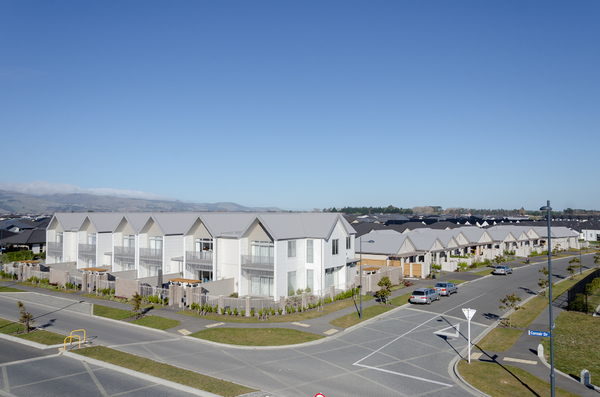 Apartments, Wigram Skies development