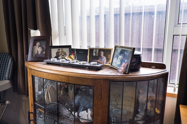 Photographs inside a home in Halswell