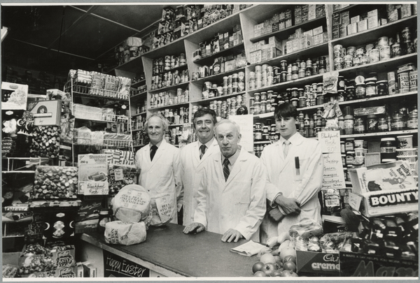 Johnson's grocery staff