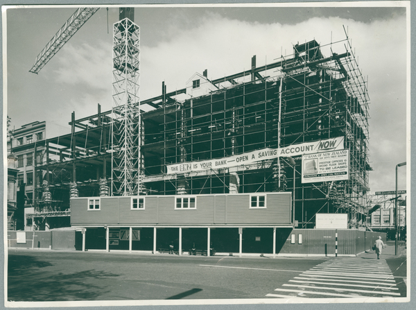 Construction of the BNZ building