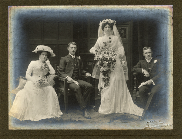 Wedding of Agnes Sarah Muir and Percy Vernon Bailey