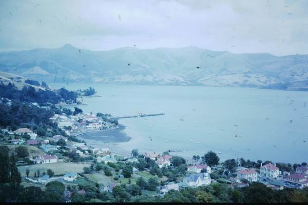 Akaroa from above