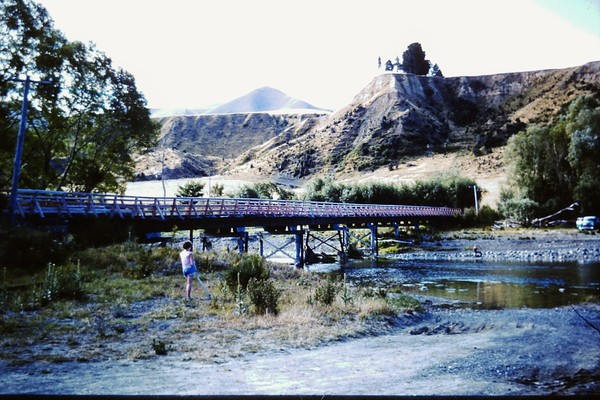 Stringer's Bridge on the Waipara River
