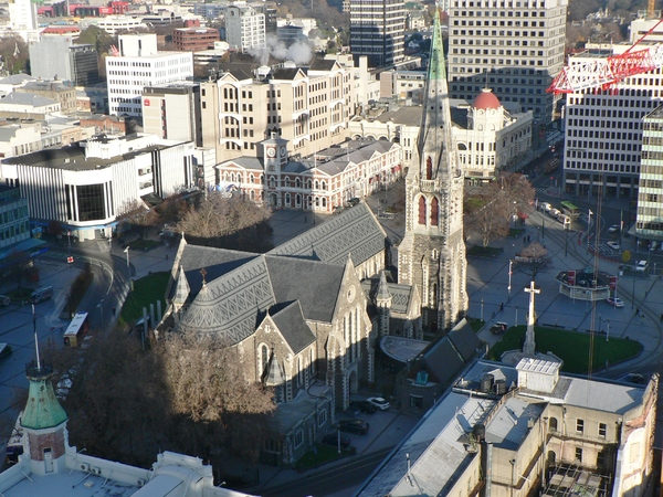 ChristChurch Cathedral from the Rendezvous Hotel