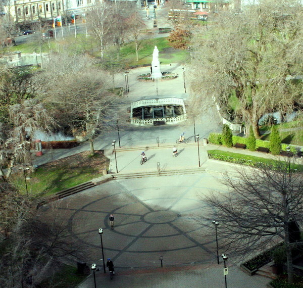 Victoria Square from the Town Hall