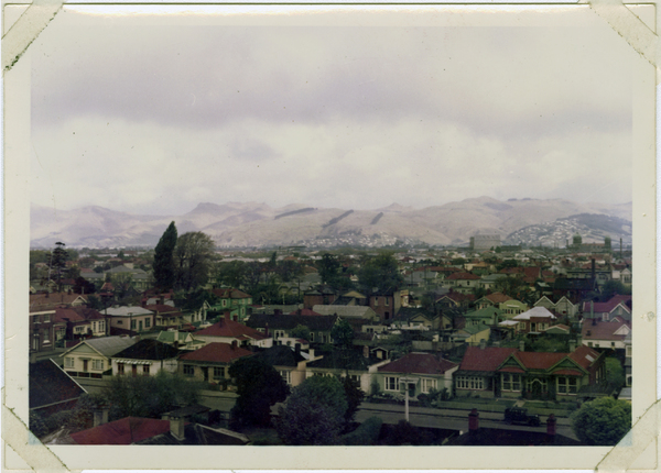 Looking towards the Port Hills