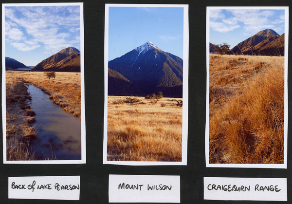 3 - Back of Lake Pearson, Mount Wilson, Carigeburn Range