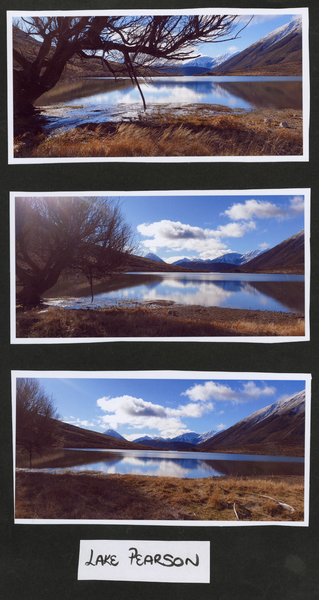 3 photos of Lake Pearson
