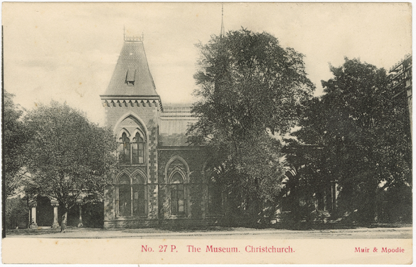 No. 27P. The Museum. Christchurch.