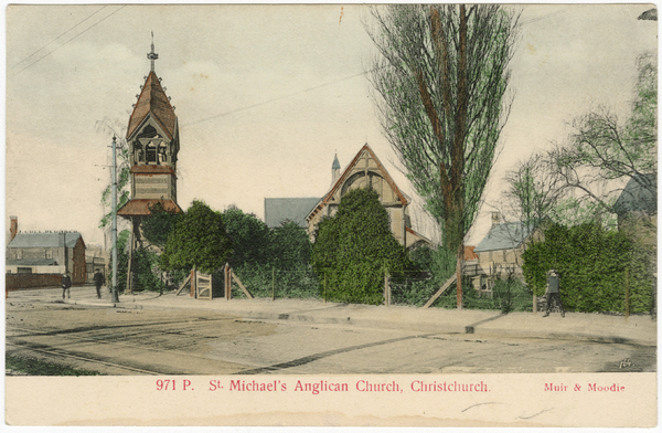 St Michael's Anglican Church, Christchurch