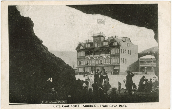 Café Continental, Sumner - from Cave Rock