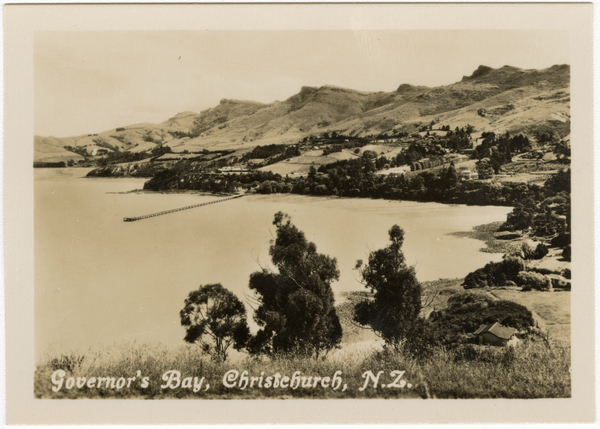 Governor's Bay, Christchurch, N.Z.
