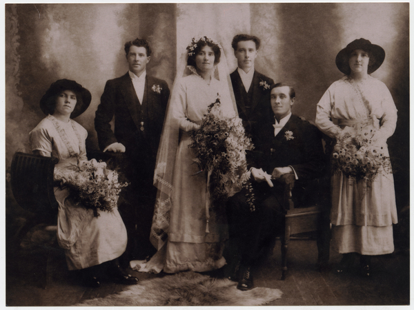 Wedding of Elizabeth Mosley and Sydney Tomline.