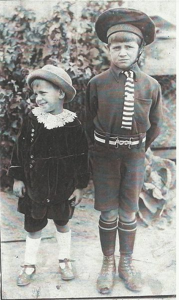 Norm and Laurie Churchill, 1910s