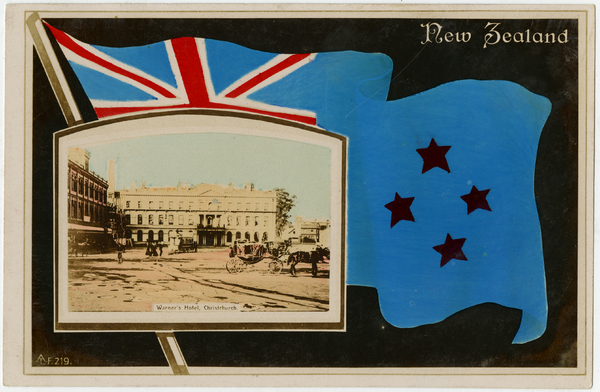 Postcard from the 1906 New Zealand International Exhibition