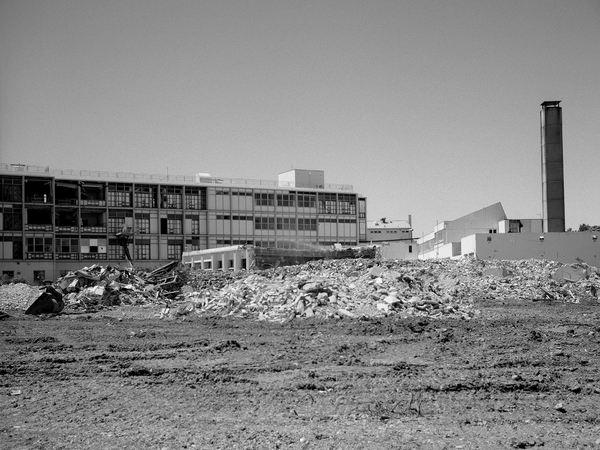 Demolition of the Christchurch Womens Hospital