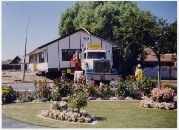 Moving Parklands Baptist Church Hall 1999