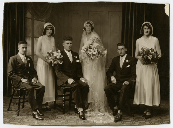 George & Annie Howell's wedding