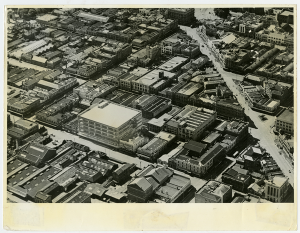 Aerial View of Millers Building, Tuam Street, 1950s?