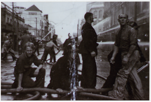 Ballantynes Firefighters from the street 1947