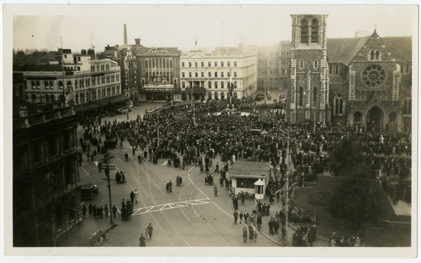 Crowd in the Square