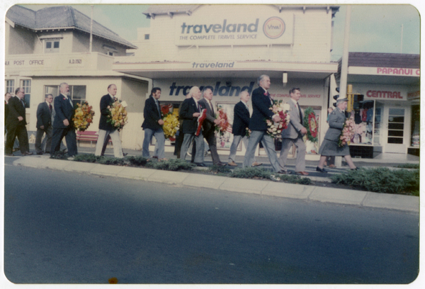 My late father's last Anzac Day parade at Papanui
