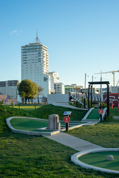 City Putt and Cruise mini golf course