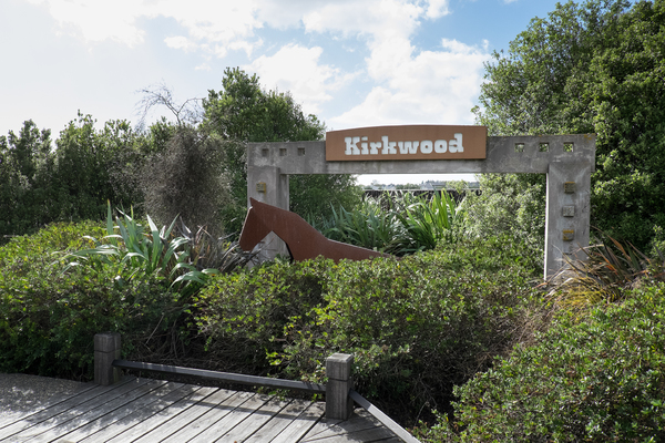 Kirkwood sign at the Stallion Reserve