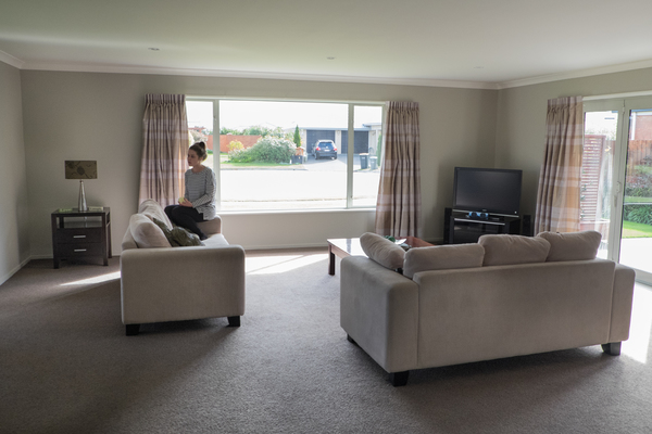 Lounge in a home in Halswell