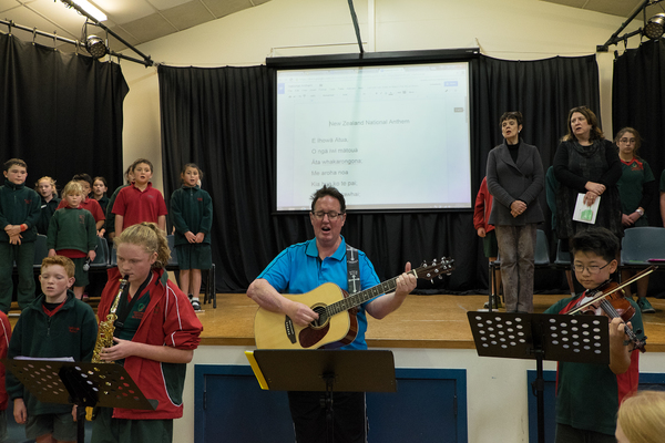 Assembly at Oaklands Primary School