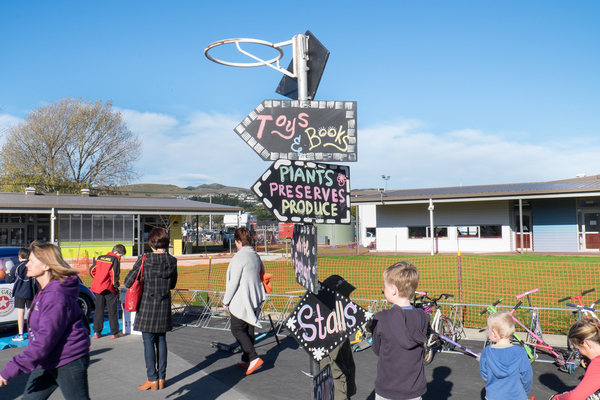 Halswell Primary School Winter Carnival and opening day