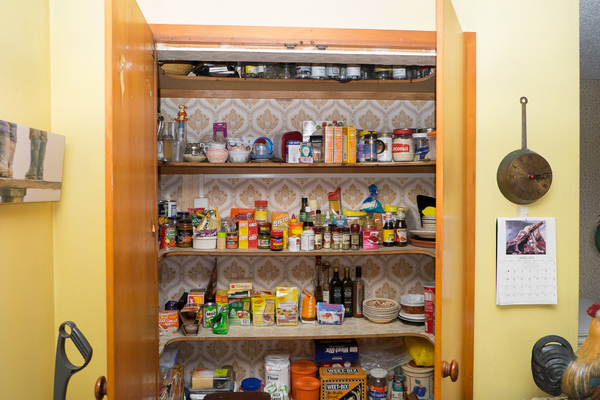 Pantry in a home in Halswell