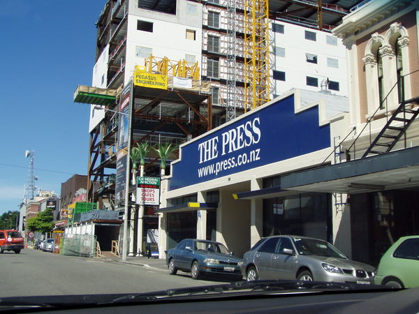The Press Office, Gloucester Street