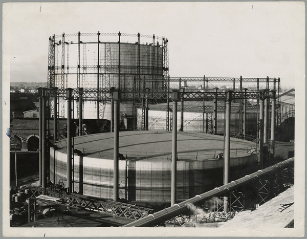 Christchurch Gasworks gasholders