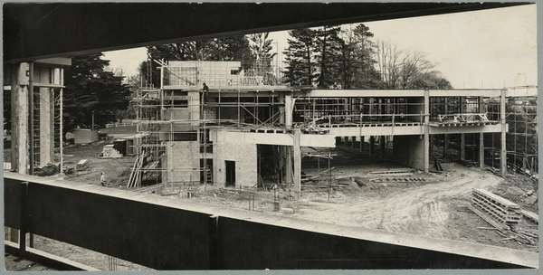 Construction of student union building